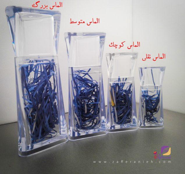ظرف-پلی-کریستال-الماس-نقلی