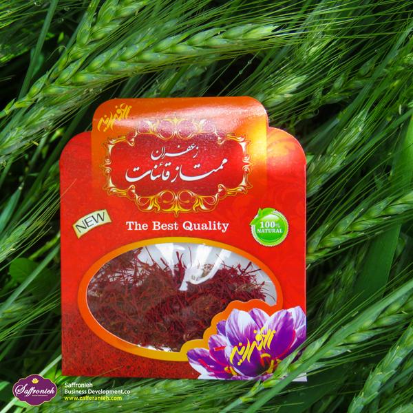 زعفران سرگل معمولی قائنات بسته بندی