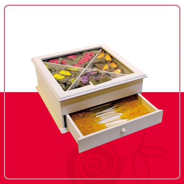 باکس VIP پروانه باکس دو طبقه هدیه سازمانی و اداری عید