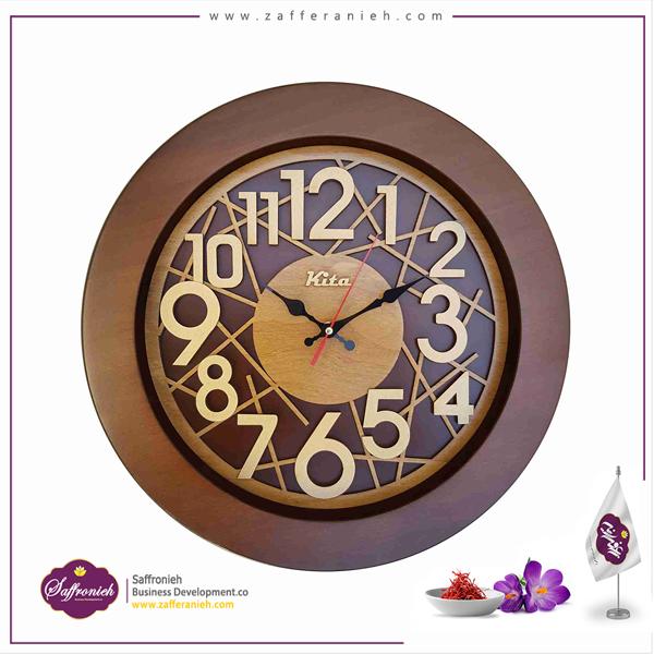 ساعت چوبی کیتا مدل CKS602C