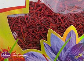 زعفران سرگل ممتاز قائنات بسته بندی